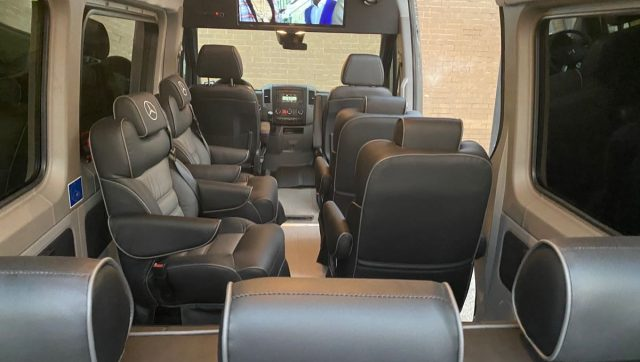 Custom Executive Sprinter Van
